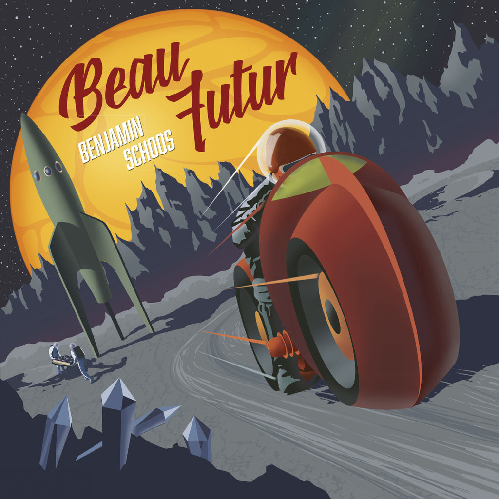 Benjamin Schoos Beau Futur LP and CD