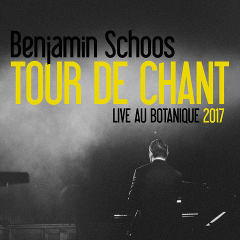 Benjamin Schoos Tour de chant CD & DVD