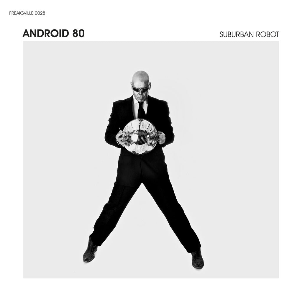 Android 80 Suburban Robot Compact Disc