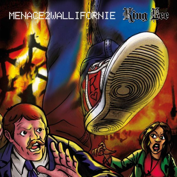 King  Lee  Menace 2 Wallifornie Compact Disc