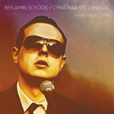 Benjamin Schoos  China Man Live at l'Etuve Compact Disc