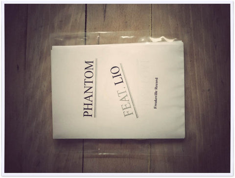 Phantom featuring LIO  fanzine + cd collector limited edition