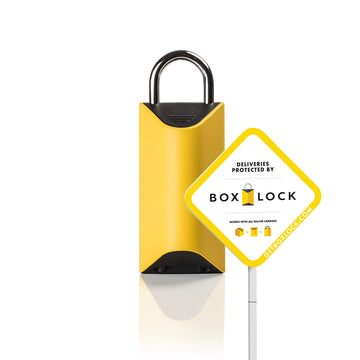 BoxLock Home + Yard Sign