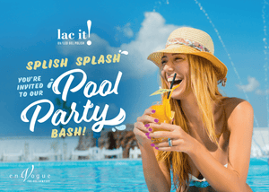 PACK 6 COLORES LAC IT! POOL PARTY COLLECTION