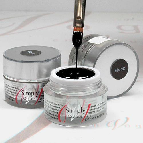 SIMPLY COLOUR GEL - BLACK