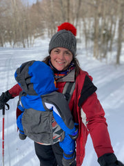 Snowshoeing Pregnant