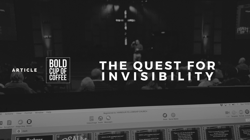The Quest For Invisibility