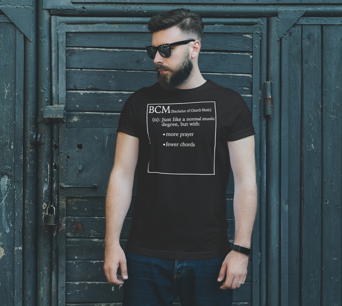 Bachelor of Church Music Tee