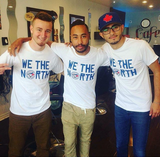 "Limited Edition ""We The North"" Toronto Blue Jays Edition T-Shirts"
