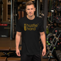 Short-Sleeve 'I Hustle Hard' T-Shirt