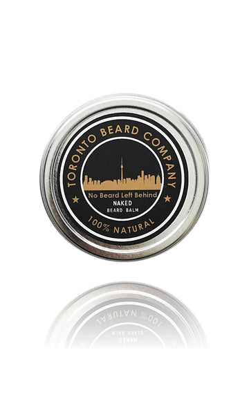 "100% All Natural Beard Balm - ""Naked"" Unscented"