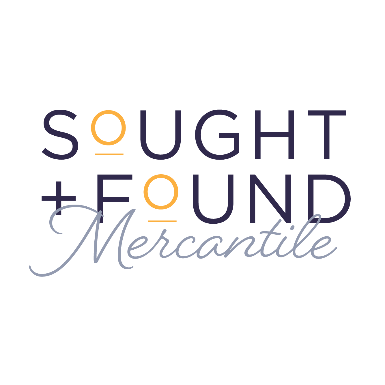 Sought + Found Mercantile logo