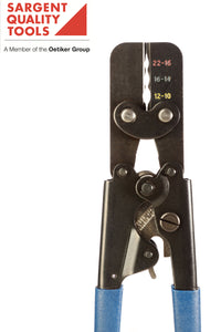 Insulated terminal crimper for numerous applications.  Automotive, electrical and electronic terminals covered.
