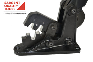 "Auto & Truck Battery Cable Lug Crimp Tool - for Lead-Free Terminal ""B"" Style Crimps - Bench Mounted - SARGENT® #6225 CT BM"