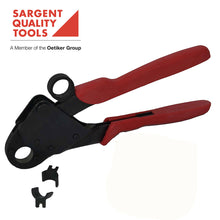 "Two Size Compact Offset Head Plumbing Tool for Crimping PEX Copper Crimp Rings 1/2"" & 3/4"" - SARGENT® #7306 ES"