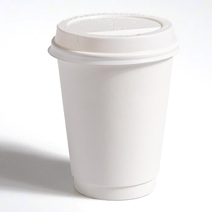 White Sip-Thru Lids to fit 12oz Cups