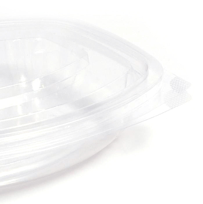 250ml Cornstarch Oval Salad Containers