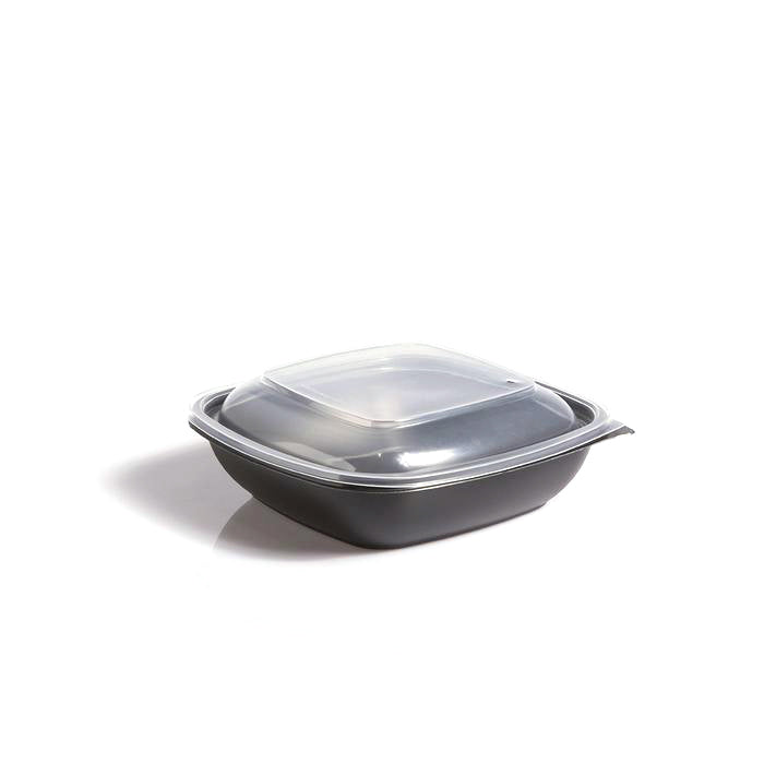 Flat Lids to fit 500ml and 750ml Square Fastpac Bowls
