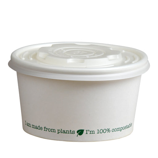Lids to fit 8oz compostable containers