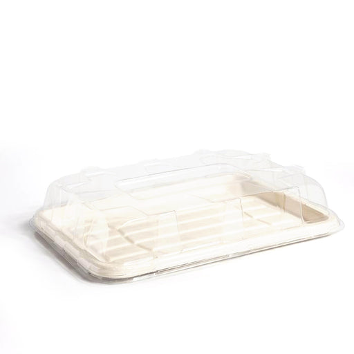 PET Lids to fit Medium Fibre Platter Trays