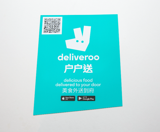 Deliveroo - Chinese Window Sticker