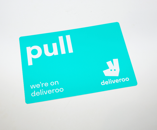 Deliveroo - Push/Pull Door Sticker