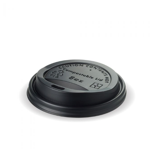 8OZ BLACK PLA LID