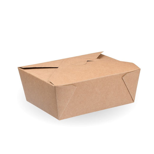 2,500ml Kraft #4 Hot Food Boxes