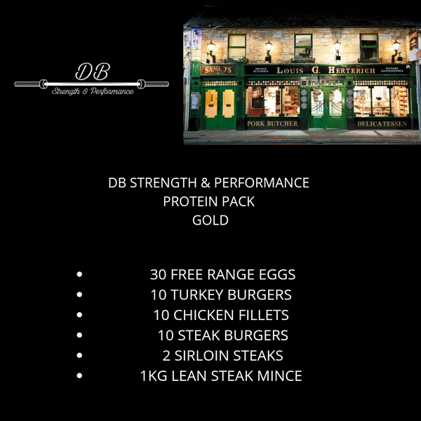 DB Strength & Performance GOLD pack