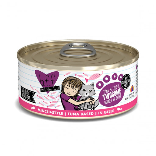 Weruva BFF Tuna and Tilapia Twosome in Aspic Canned Cat Food