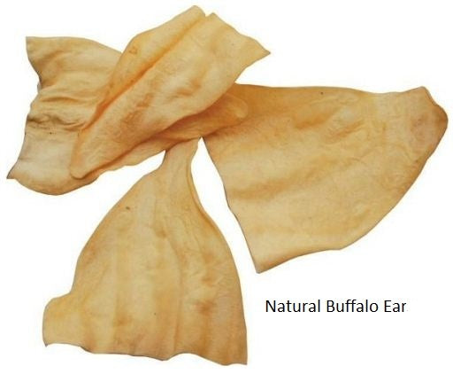 Bingo Free Range Buffalo Ears for Dogs