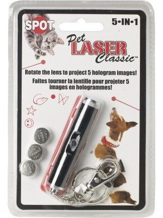 Ethical Pet SPOT Laser Classic 5 in 1 Pet Toy