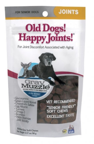 Ark Naturals Gray Muzzle  Old Dogs! Happy Joints! Dog Treats