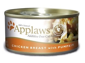 Applaws Additive Free Chicken Breast with Pumpkin Canned Cat Food