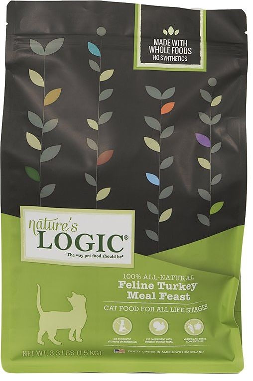 Nature's Logic Feline Turkey Meal Feast Dry Cat Food