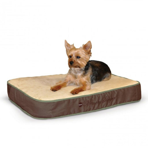 K&H Pet Products Memory Sleeper Mocha Dog Bed