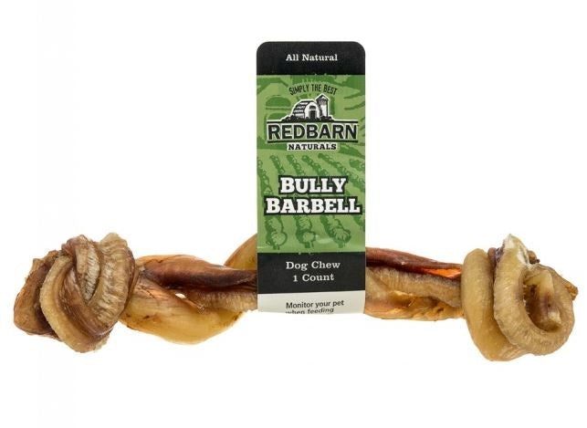 Redbarn Naturals Bully Barbells Dog Treats