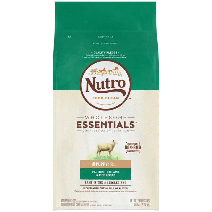 Nutro Wholesome Essentials  Puppy Pasture-Fed Lamb & Rice Dry Dog Food