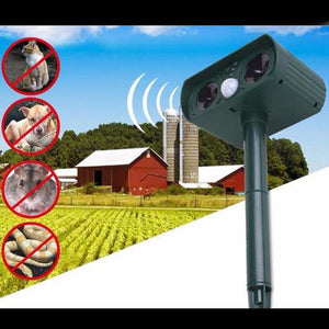 Solar Outdoor Ultrasonic Pest Weigeren