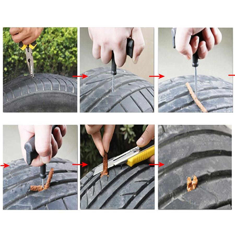 Tubeless Tyre Easy Repair Kit