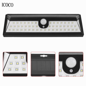 Solar Sensor Waterproof Wall Light voor Outdoor Garden