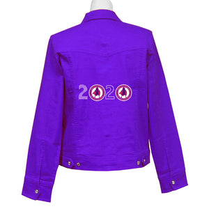 2020 Power of Fun Denim Crystal Jacket