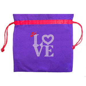 Red Hat Society Love Mask Bag
