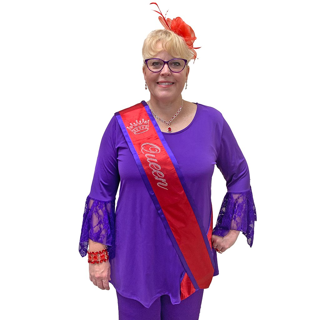Red Hat Society Logo Sash