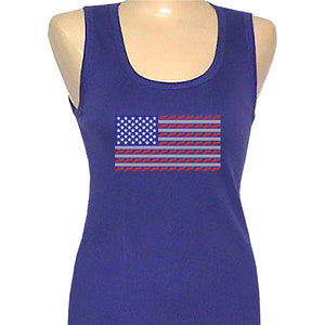 Red Hat Society Americana Classic Tank Shirt