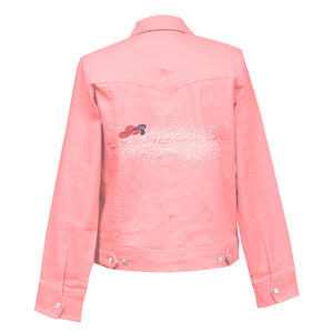 RHS Explosion Crystal Denim Jacket
