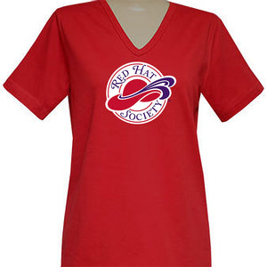 Red Hat Society Logo Short Sleeve Classic