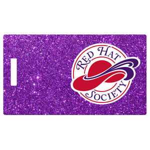 Red Hat Society Logo Luggage Tag