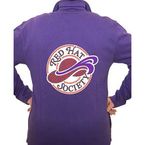 Red Hat Society Logo Cardigan Jacket