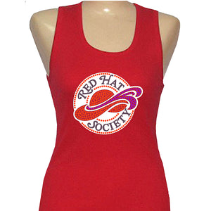 Red Hat Society Logo Tank Shirt